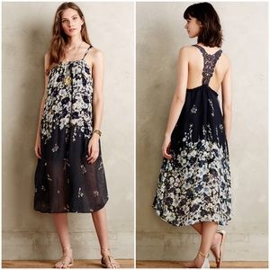 ANTHROPOLOGIE | Lilka Navy Verano Dress